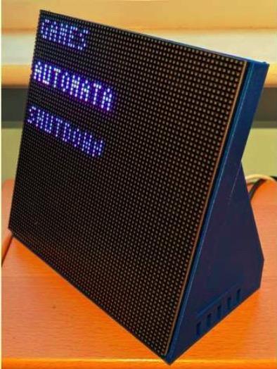 Raspberry Pi LED Matrix Case V0 1 by gorse212 Thingiverse