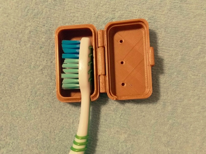Toothbrush Case by Domes Thingiverse