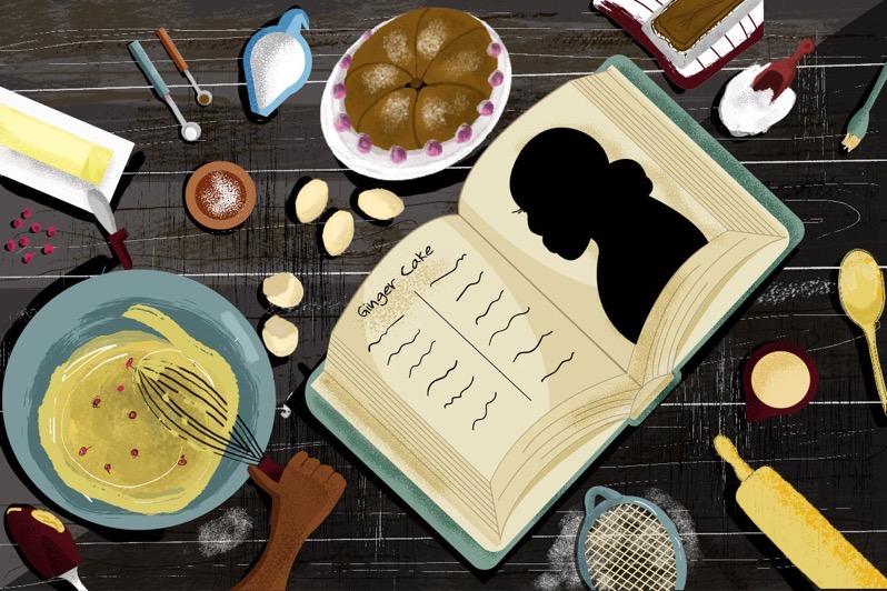 Malinda Russell cookbook illustration
