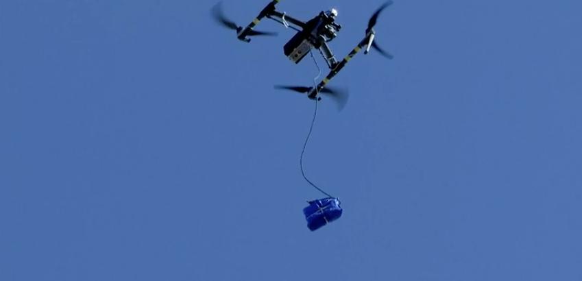 Walmart in El Paso delivers coronavirus tests by drone