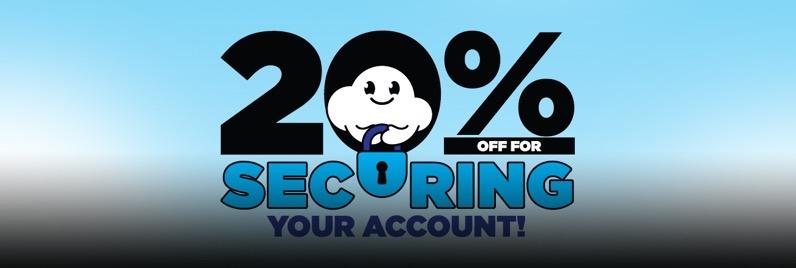 Adafruit 20off securing account blog