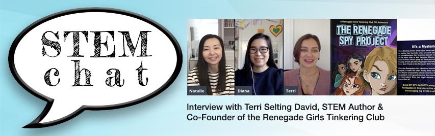 STEM Chat 11/20/20 Interview with STEM Author Terri Selting David #STEM #STEMKids #Education