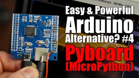 Pyboard (MicroPython) Beginner's Guide