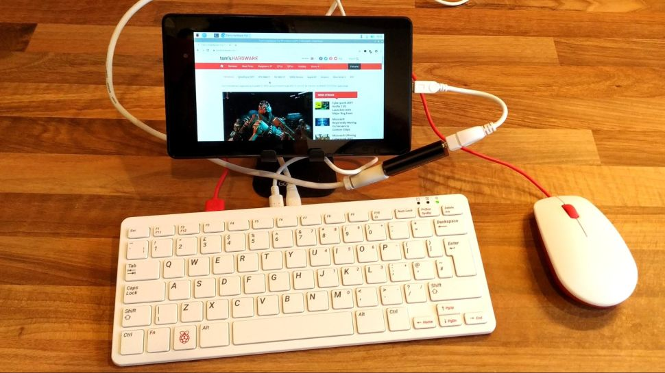 How to Use a Tablet as a Portable Raspberry Pi Screen @Raspberry_Pi #PiDay #RaspberryPi