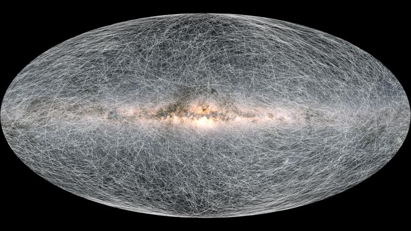 Gaia s stellar motion for the next 400 thousand years pillars