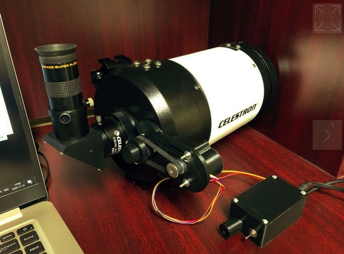 Focuser support for Celestron C5 by ym1964 Thingiverse