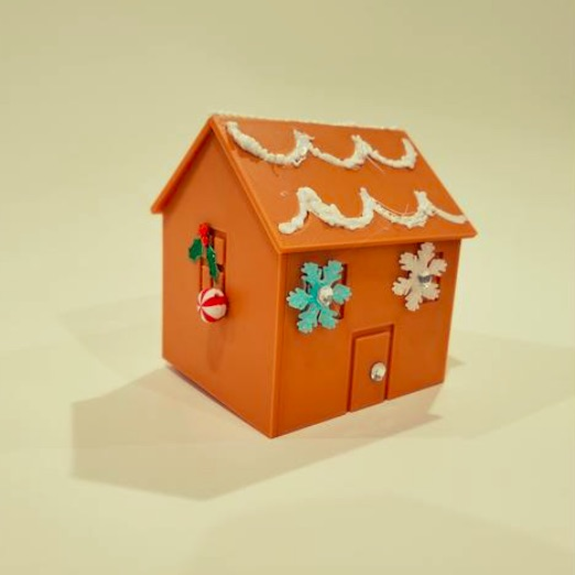 Gingerbread Village by ssandmeier Thingiverse