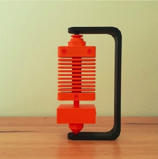 Hot End Model Spinning by CheesmondN Thingiverse