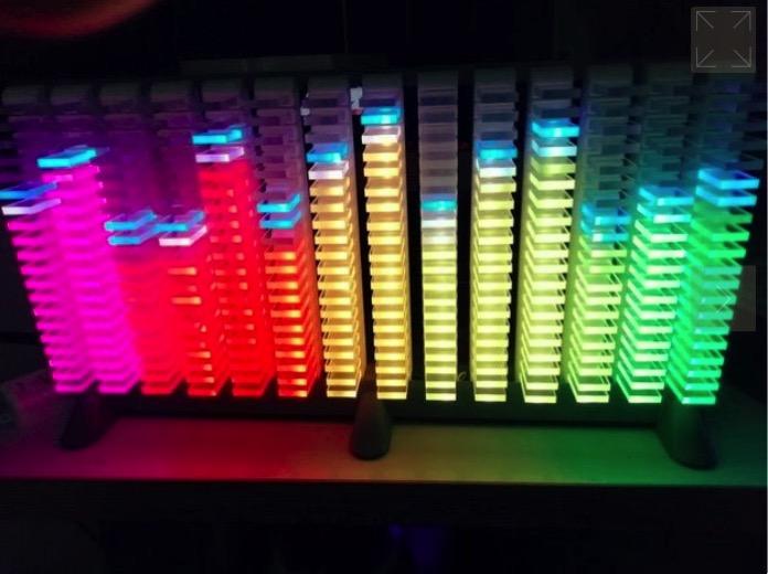 Mamo Vu Meter 14 Band Spectrum Analyzer by Mamo Thingiverse