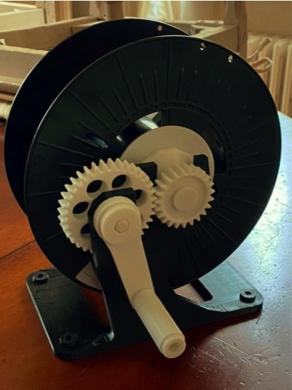 Spool Winder by knightrider 007 Thingiverse