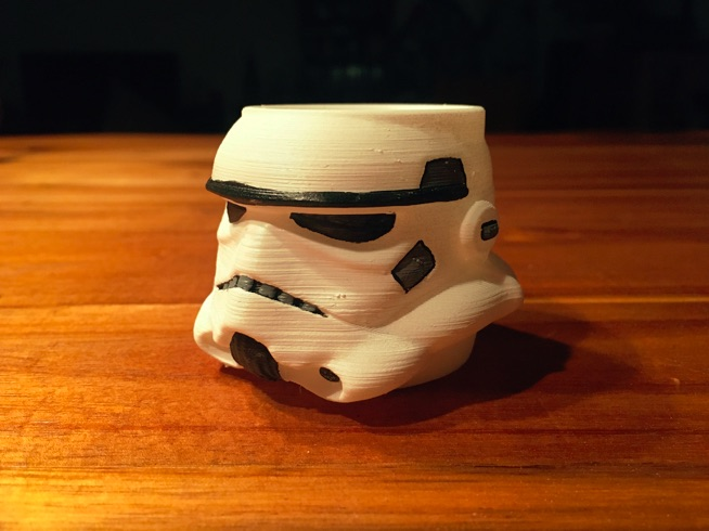 Stormtrooper egg cup stackable by Schnibbelbohn Thingiverse