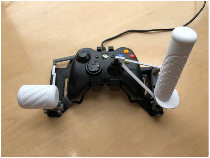 Snap on Xbox 360 gamepad HOTAS joystick by akaki Thingiverse