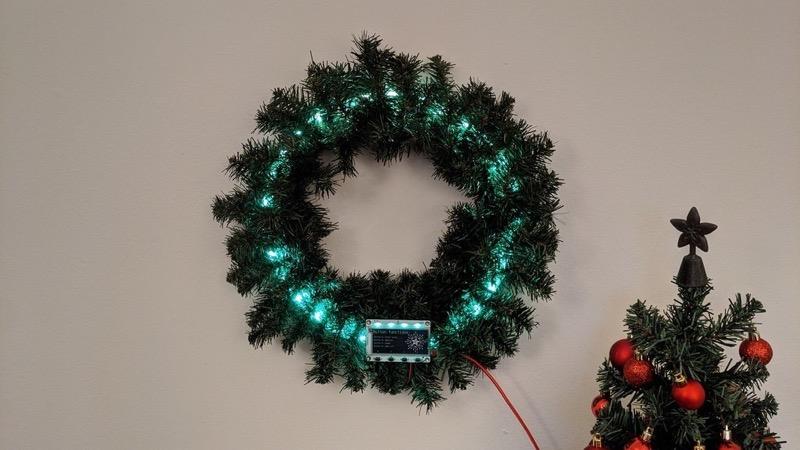 Led strips MagTag LED green