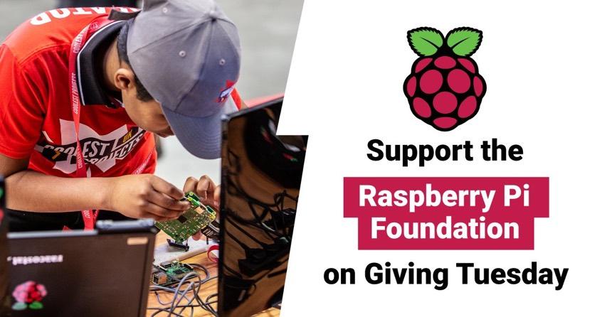 Donate to the Raspberry Pi Foundation @Raspberry_Pi @CanaKit