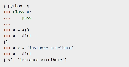 How Python attributes work