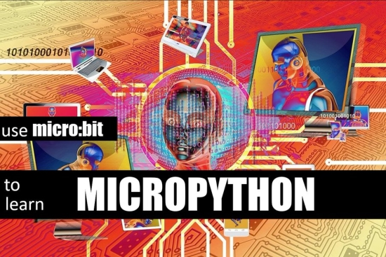 micro:bit to learn MicroPython