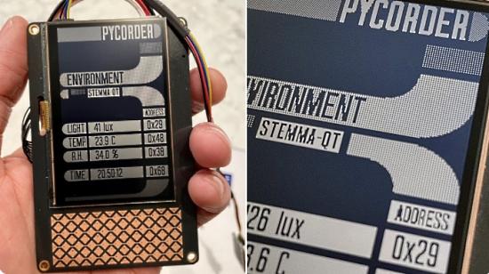 PyCorder LCARS Demo