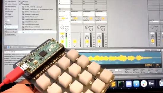 CircuitPython 6.2.0 Soundboard