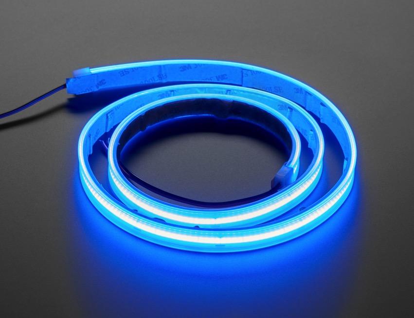 COB LED Strip blue iso lit ORIG 2020 12