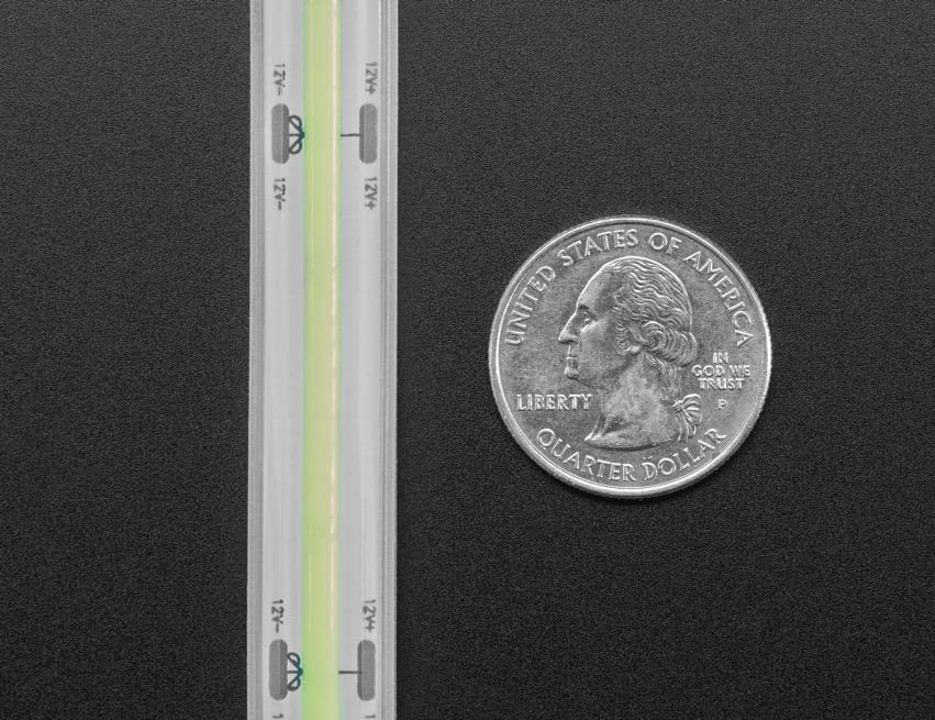 COB LED Strip green quarter ORIG 2020 12 V2