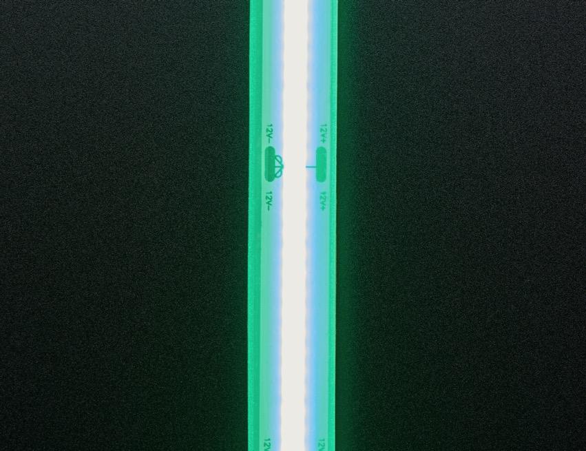 COB LED Strip green top lit ORIG 2020 12