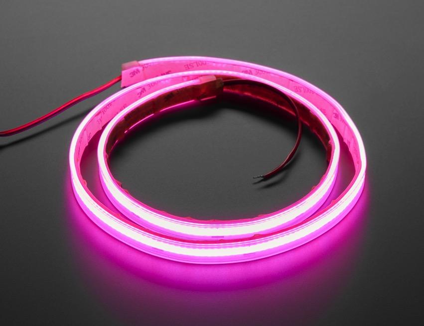 COB LED Strip pink iso lit ORIG 2020 12