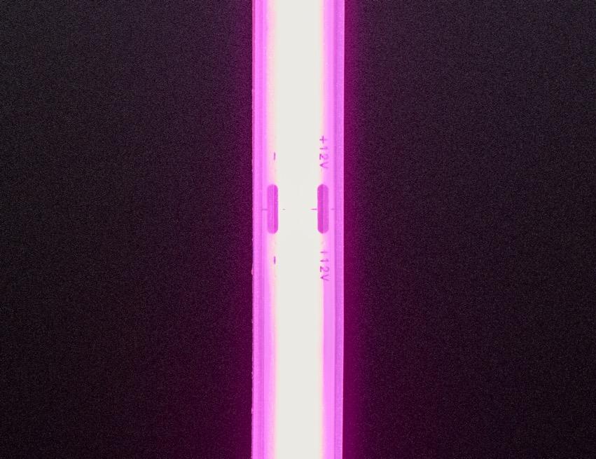 COB LED Strip pink top lit ORIG 2020 12