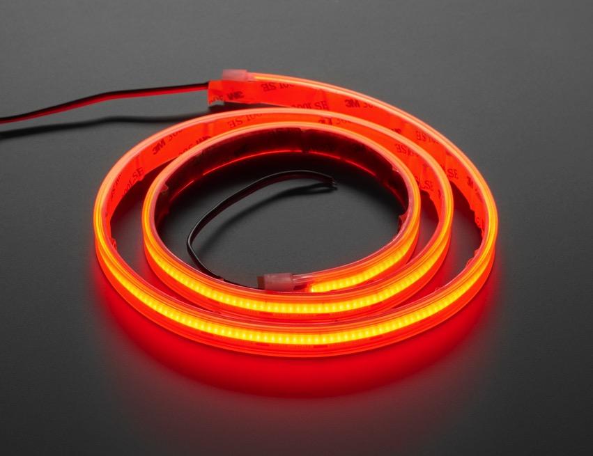 COB LED Strip red iso lit ORIG 2020 12