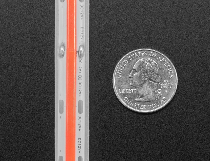 COB LED Strip red quarter ORIG 2020 12 V2