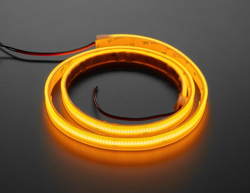 COB LED Strip yellow iso lit ORIG 2020 12