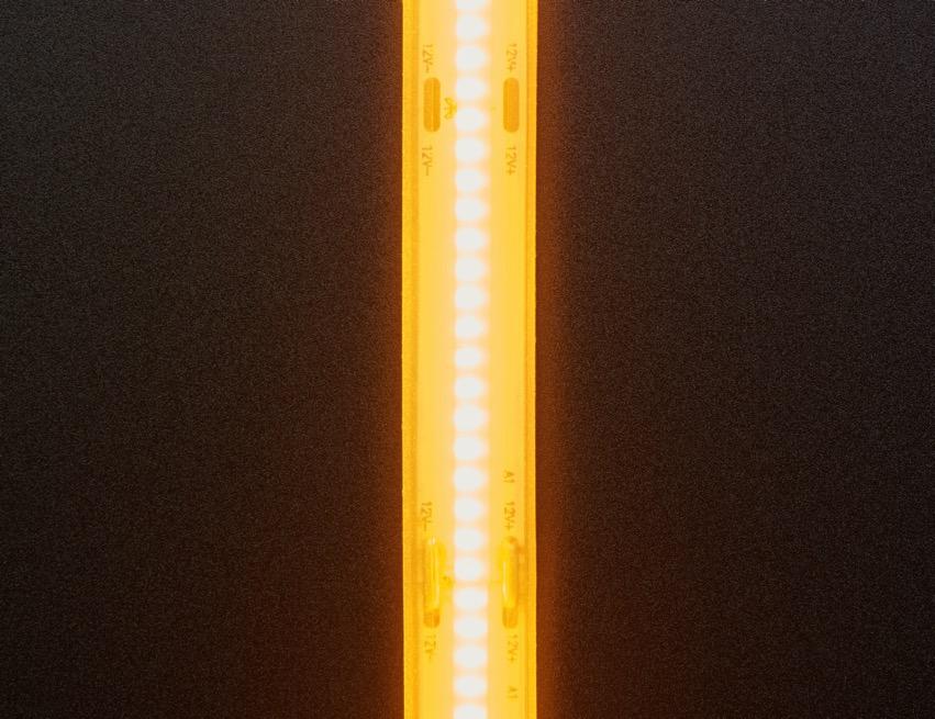 COB LED Strip yellow top lit ORIG 2020 12