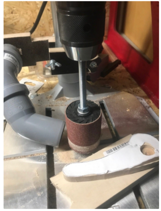 Drum sander for drill press by Mobyflavour Thingiverse