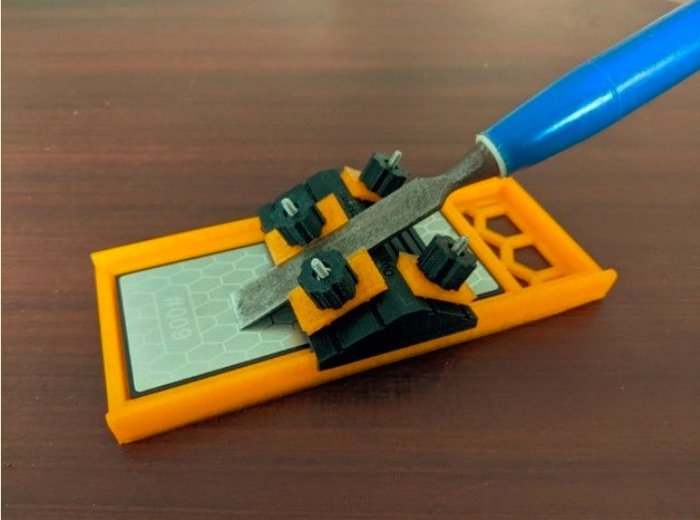 Chisel Sharpening Guide by DustBunny67 Thingiverse