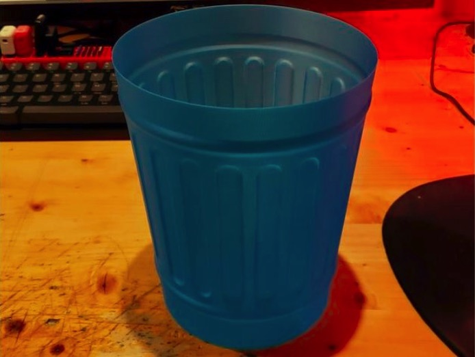 Vase Mode Trash Can by RMCEWEN2016 Thingiverse