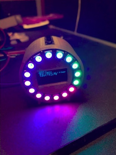 Ws2812 Ring with Arduino 0 96 Oled menu by mbiel123 Thingiverse