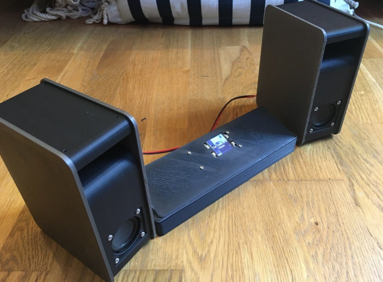Pirate Audio Set by e2vdavidb Thingiverse