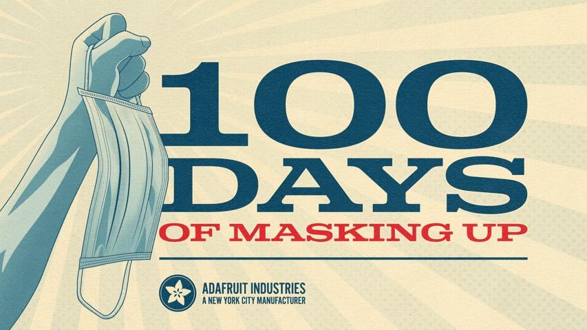 Adafruit 100 Masks Fb Ig