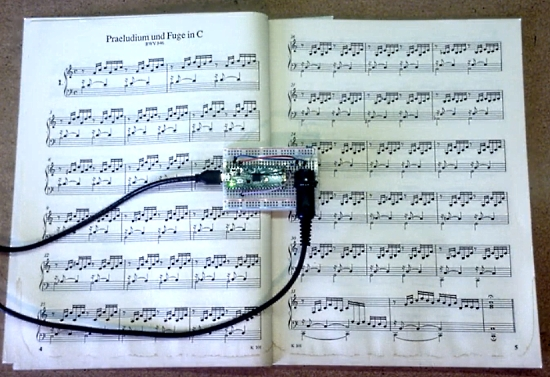 Raspberry Pi Pico Plays Bach