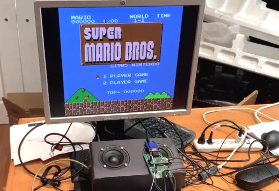 Raspberry Pi Pico Emulates Nintendo Console