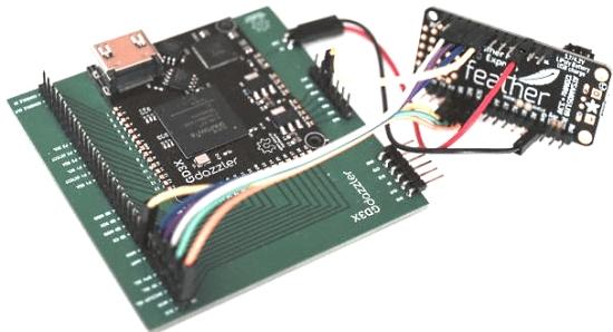 CircuitPython and GD3X progress
