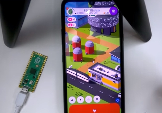 Raspberry Pi Pico - USB HID Auto Clicker with CircuitPython