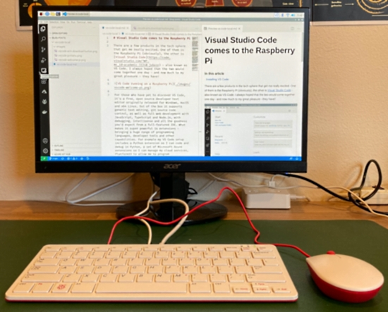 Visual Studio Code comes to Raspberry Pi