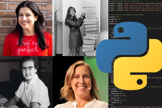Learn Python with the Women in Tech Personality Quiz