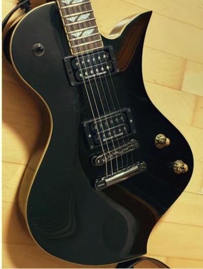 Guitar skull knob by taeky Thingiverse