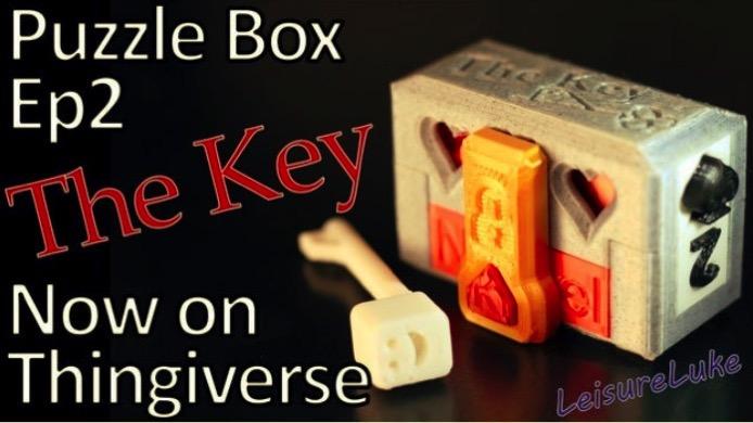 The Key Puzzle Box by LeisureLuke Thingiverse