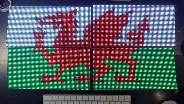 Protomatter tiled dragon 600x338