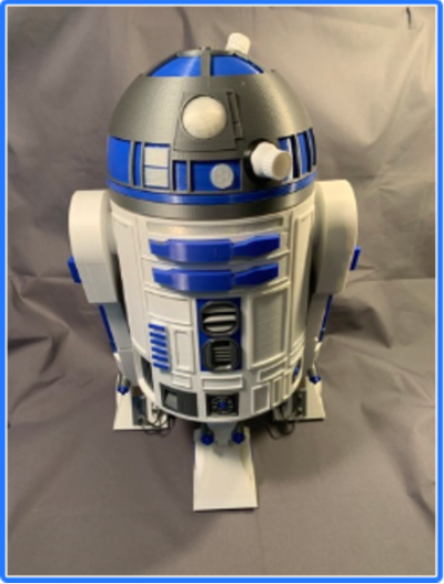 R2D2 by bjamestx Thingiverse