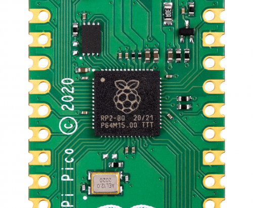 Raspberry Pi Pico with RP2040 500x410
