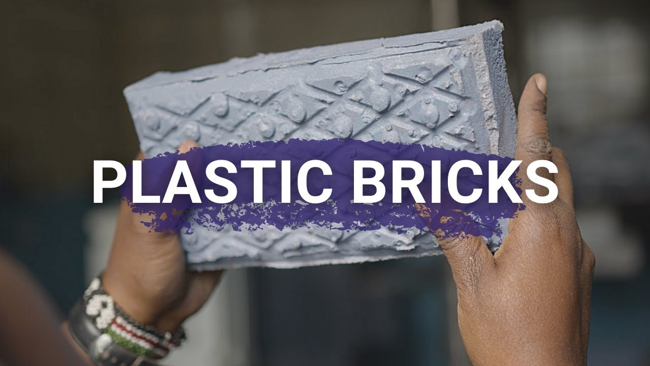 Kenyan Woman's Startup Recycles Plastic into Bricks that are Stronger than Concrete