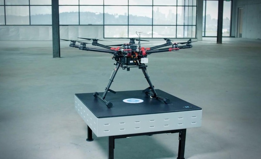 Wibotic drone